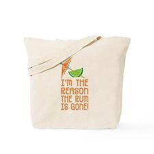 Rum Gone - Tote or Beach Bag