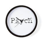 Psych Wall Clock