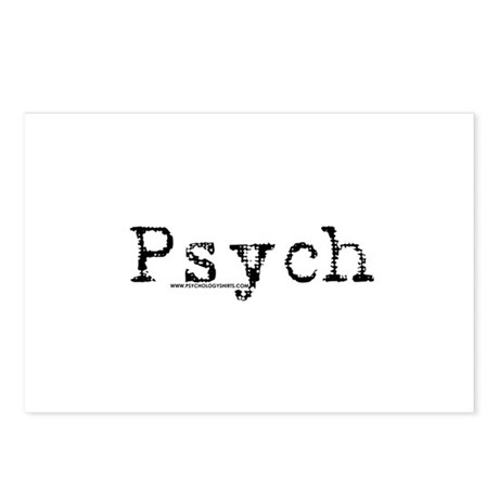 Psych Postcards (Package of 8)