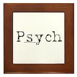 Psych Framed Tile
