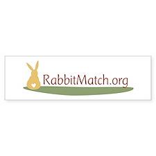 RabbitMatch.org Bumper Bumper Sticker