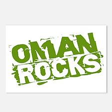 Oman Rocks Postcards (Package of 8)