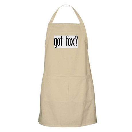 Got Fox? BBQ Apron