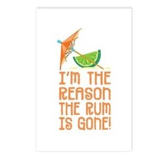 Rum Gone - Postcards (Package of 8)