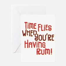 Time Flies - Greeting Card