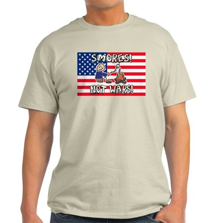 Make S'mores Not Wars! Light T-Shirt
