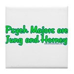 Jung and Horney Tile Coaster