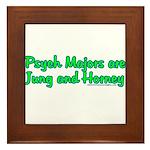 Jung and Horney Framed Tile
