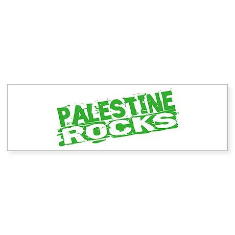 Palestine Rocks Bumper Sticker