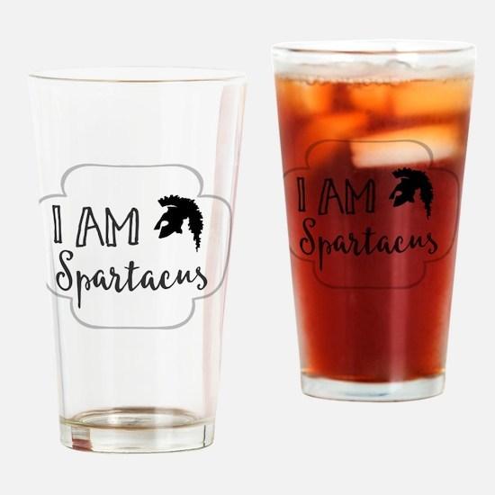 Unique Spartacus Drinking Glass