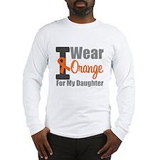 I Wear Orange (Daughter) Long Sleeve T-Shirt