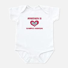 Anastasia Is Grandpa's Valent Infant Bodysuit