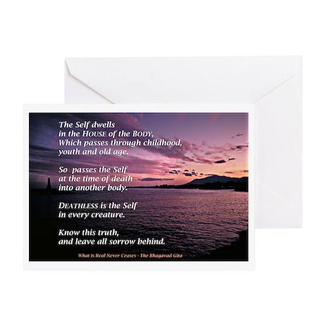 Gita Sunset Greeting Card