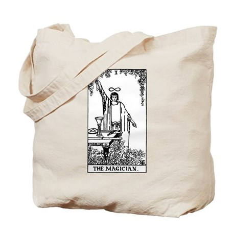 The Magician Rider-Waite Tarot Card Tote Bag