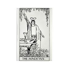 The Magician Rider-Waite Tarot Card Rectangle Magn