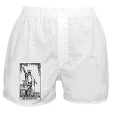 The Magician Rider-Waite Tarot Card Boxer Shorts