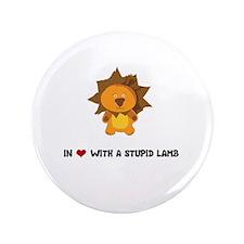 "Lion - In Love 3.5"" Button"