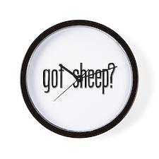 Got Sheep? Wall Clock