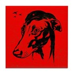 Greyhound Revolution Icon Tile Coaster
