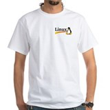 Redhat Mens Classic White T-Shirts