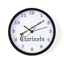 Joe's Clarinets Wall Clock
