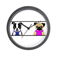 Zoie & Leah Wall Clock