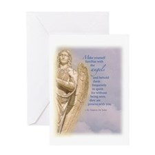 Angel Guardian Greeting Card