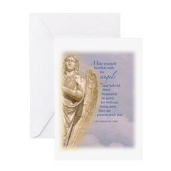 Angel Guardian Greeting Card