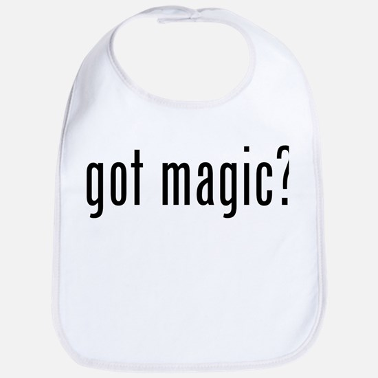 got magic? Bib