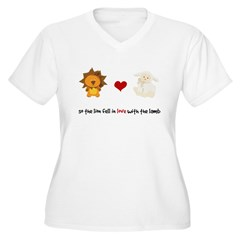 Lion and Lamb - Fell in love T-Shirt