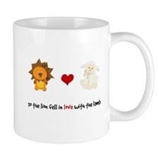 Lion and Lamb - Fell in love Mug