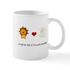 Lion and Lamb - Fell in love Mug