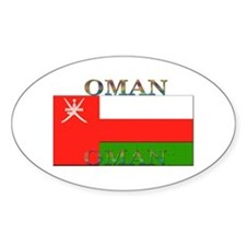 Oman Oval Decal
