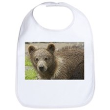 Brown Bear Art Bib
