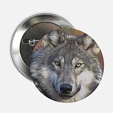 """Wolf Art 2.25"""" Button"""