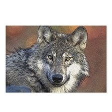 Wolf Art Postcards (Package of 8)