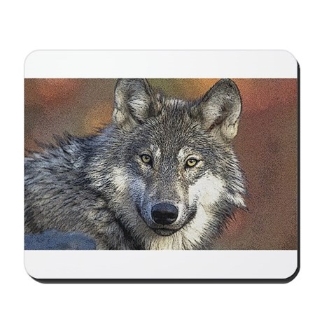 Wolf Art Mousepad