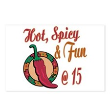 Hot N Spicy 15th Postcards (Package of 8)
