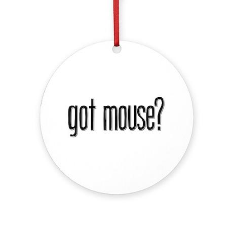 Got Mouse? Keepsake (Round)