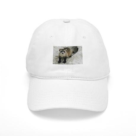 Black-Footed Ferret Art Cap