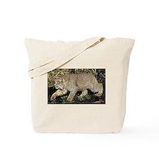 Bobcat Art Tote Bag