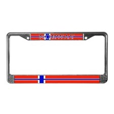 Norway Norwegian Flag License Plate Frame