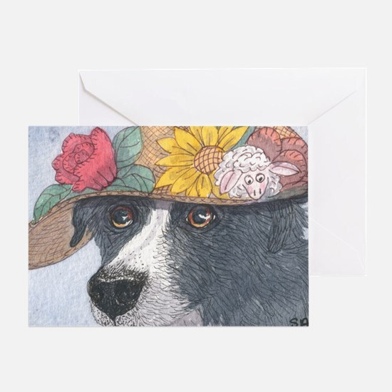 Her Special Hat Greeting Card