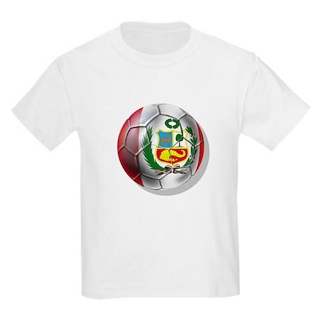 Peru Futbol Kids Light T-Shirt