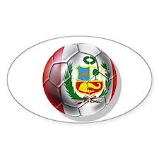 Peru Futbol Bumper Stickers