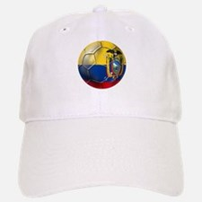 Ecuador Soccer Ball Baseball Baseball Cap