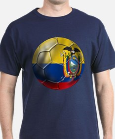 Ecuador Soccer Ball T-Shirt