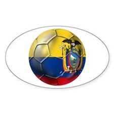 Ecuador Soccer Ball Decal
