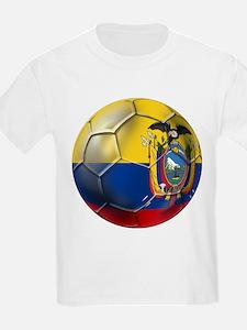 Ecuador Soccer Ball T-Shirt