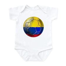 Colombian Soccer Futbol Infant Bodysuit